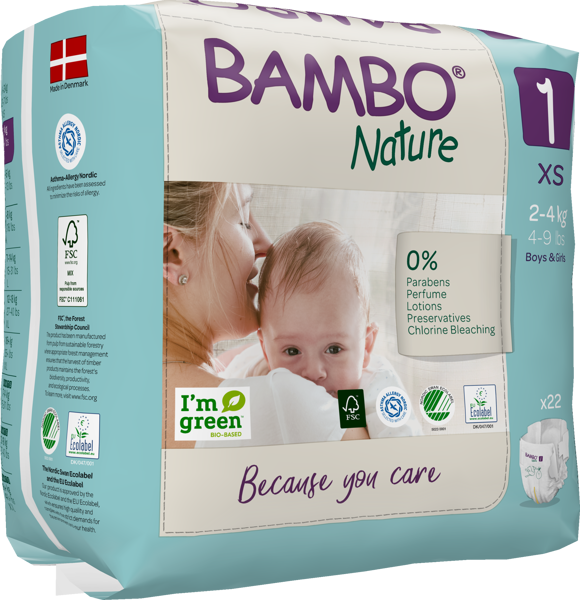 Picture of Bambo Nature Size 1 2-4 kg N22